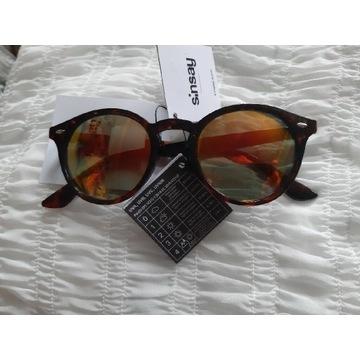 Okulary przeciwsłoneczne damskie lustrzanki