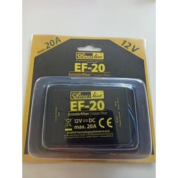 Filtr przeciwzakłóceniowy do CB i CAR AUDIO EF20