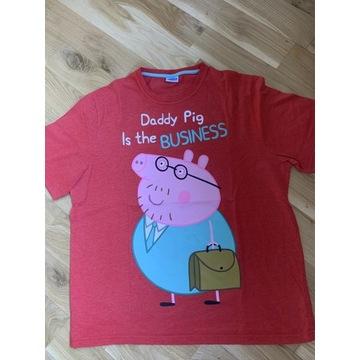 Tshirt koszulka Świnka Peppa dla super taty