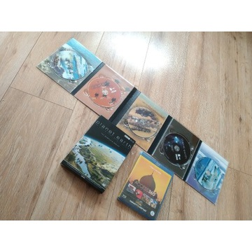 BBC planet earth 5 DVD plus national geographic
