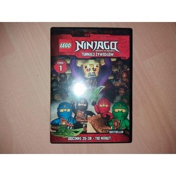 LEGO NINJAGO TURNIEJ ŻYWIOŁÓW 1 ODC 35-39 [DVD]