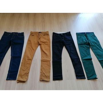 zestaw spodnie ZARA H&M DIVERSE 30 31 idealne