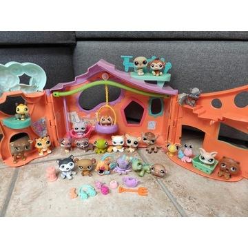 Littlest Pet Shop zestaw 24 LPS + dodatki domek