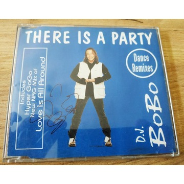 DJ BOBO - There is a party Dance Remixes unikat!