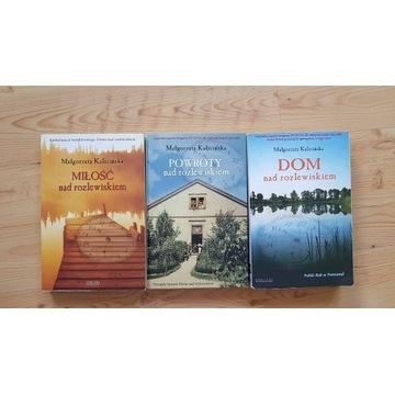 Kalicińska, Nad rozlewiskiem, zestaw 3 książek