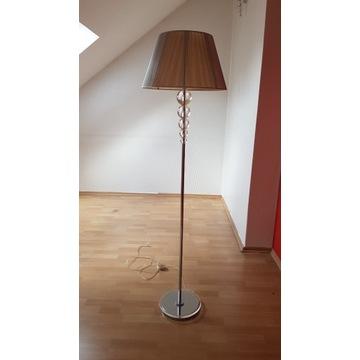 Lampa stojąca +kinkiety