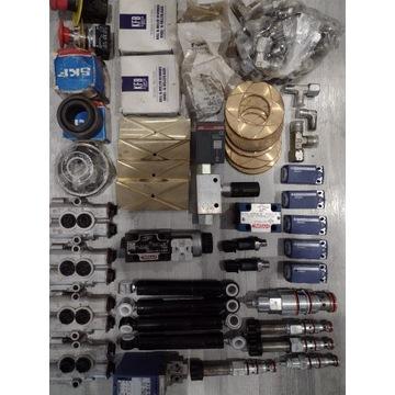 Nowe części hydrauliczne łożyska czujniki itd.....