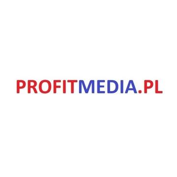 Domena PROFITMEDIA.PL + strona www