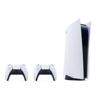 Nowa Konsola Sony PlayStation 5 dwa kontrolery