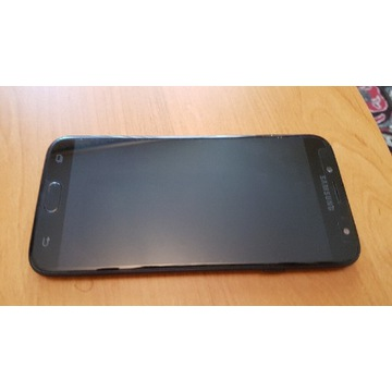 Samsung J7 Duos czarny, uszkodzony ekran