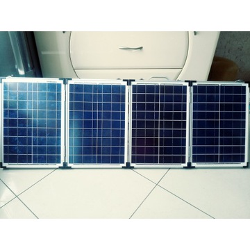 Przenośna bateria słoneczna  80 W  12V