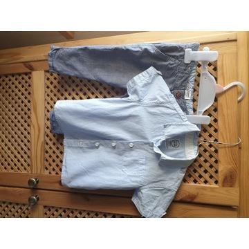 Koszula i spodnie Smyk 80 cm