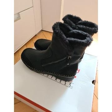 Nowe buty zimowe Rieker roz 37