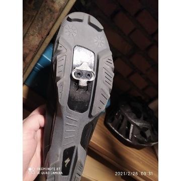 Buty MTB Sport rozmiar 44 wkładką 28.3 cm