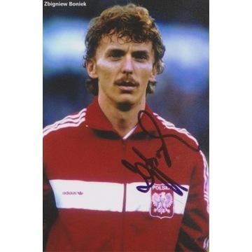 Zbigniew Boniek (Juventus, Widzew) AUTOGRAF