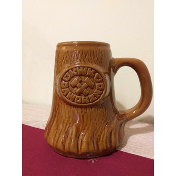 Kufel 1 litr, karczma piwna KWK Jaworzno '90