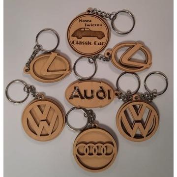 BRELOKI samochodowe * różne marki