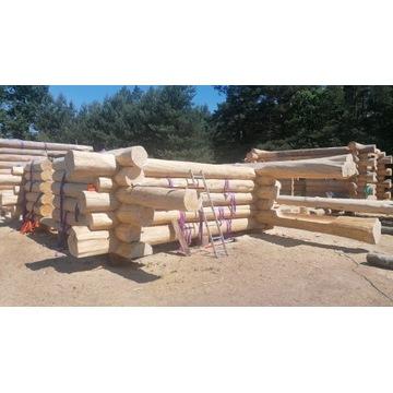 Dom z bali, Dom drewniany