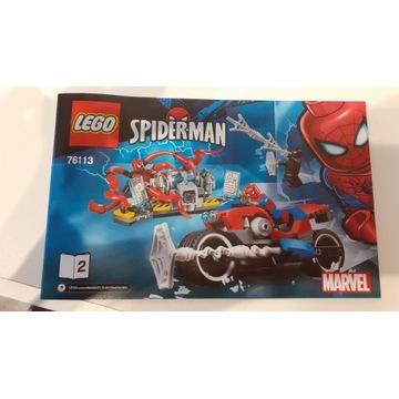 Lego 76113 Marvel Spiderman
