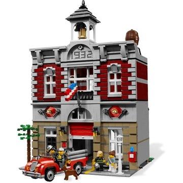 LEGO 10197 Fire Brigade / remiza - unikat