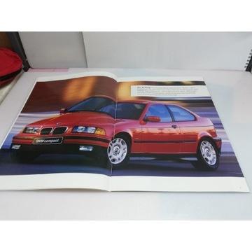 Prospekt katalog BMW E36 Compact
