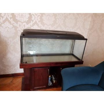 akwarium 216 L z szafką i filtrem kubełkowym