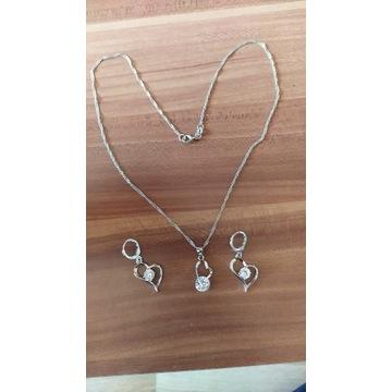 Komplet biżuterii damskiej