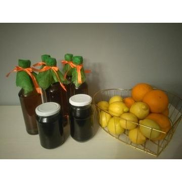 Syrop z mniszka lekarskiego z pomarańczą 0,5l EKO