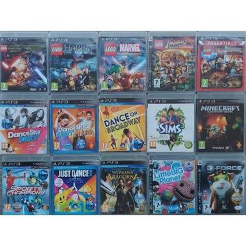 Gry dla dzieci PS3 Assassin's Creed GTA LEGO FIFA