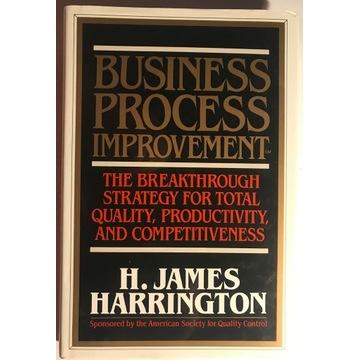 Business Process Improvement - H. James Harrington