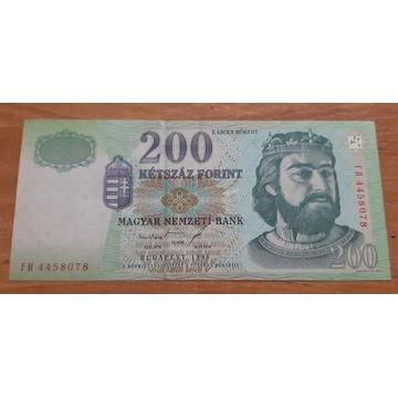 200 Forintów stan II z 1998