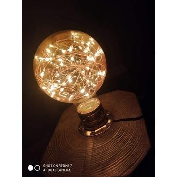 Lampa z bali