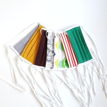 Maska maseczka bawełniana streetwear wielorazowa M