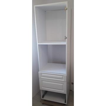 Słupek szafka kolumnowa biała 3 szuflady nowa
