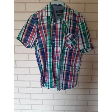 Koszula z krótkim rękawem w kratkę Reserved XL
