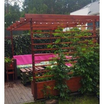 Pergola Kratka ogrodowa Różne wzory Na wymiar