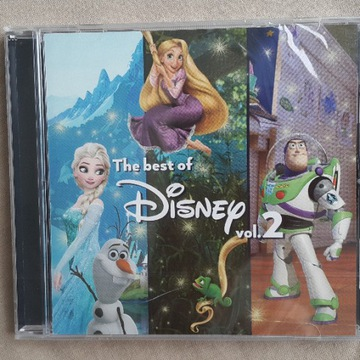 CD The best of Disney vol.2. Folia.