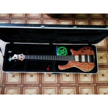 Gitara basowa Langowski 5 strun