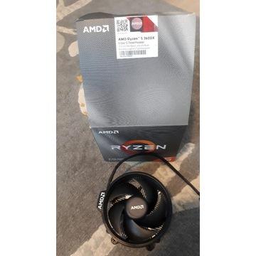 Oryginalne chłodzenie AMD Wraith cooler AM4
