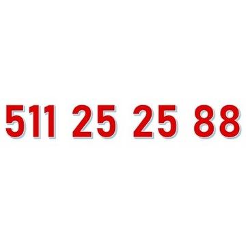 511 25 25 88 ORANGE ŁATWY ZŁOTY NUMER starter