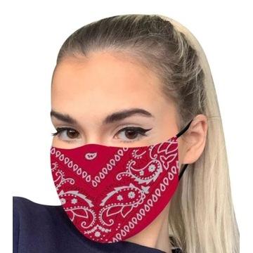 Maseczka Maska kolor