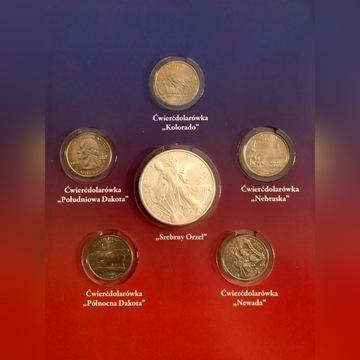 Amerykański Orzeł 1oz Ag999 1uncja srebra 2006