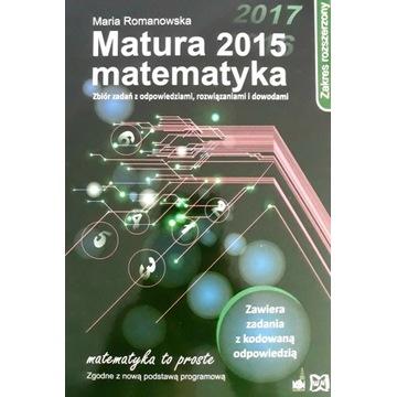 Matura 2015 Matematyka-Maria Romanowska