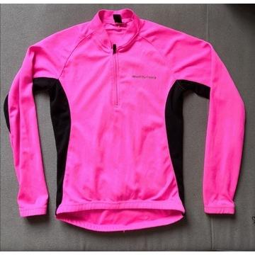 Koszulka bluza rowerowa Muddyfox długi rękaw róż