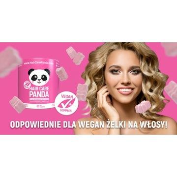 Hair Care Panda ! Witaminy Na Włosy Dla Wegan !