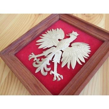 Artystyczne Godło Polski Herb proj Z.A. Kowalski
