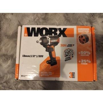 Klucz udarowy Worx POWERSHARE WX279.9 20V+ak 6AH