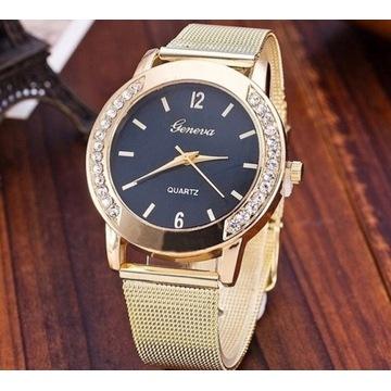 Złoty zegarek damski. Licytacja