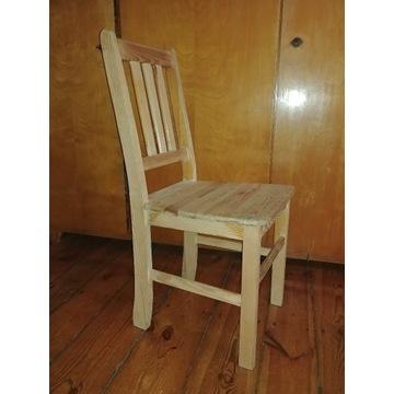 Solidne krzesła drewniane gotowe do pomalowania