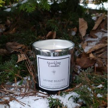 Divine beauty - świeca zapachowa sojowa naturalna